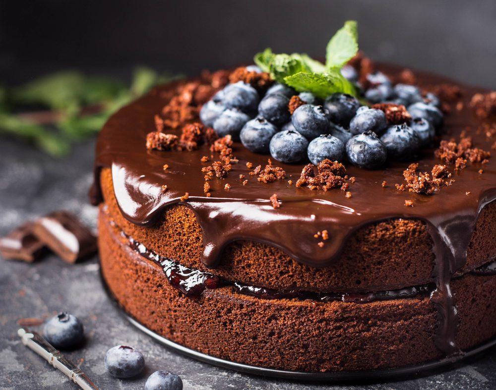 Parve Chocolate Crunch Cake